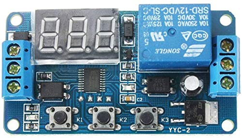 Digital Delay Timer PLC Delay Time Control Switch 0.1Sec to 999Min Adjustable