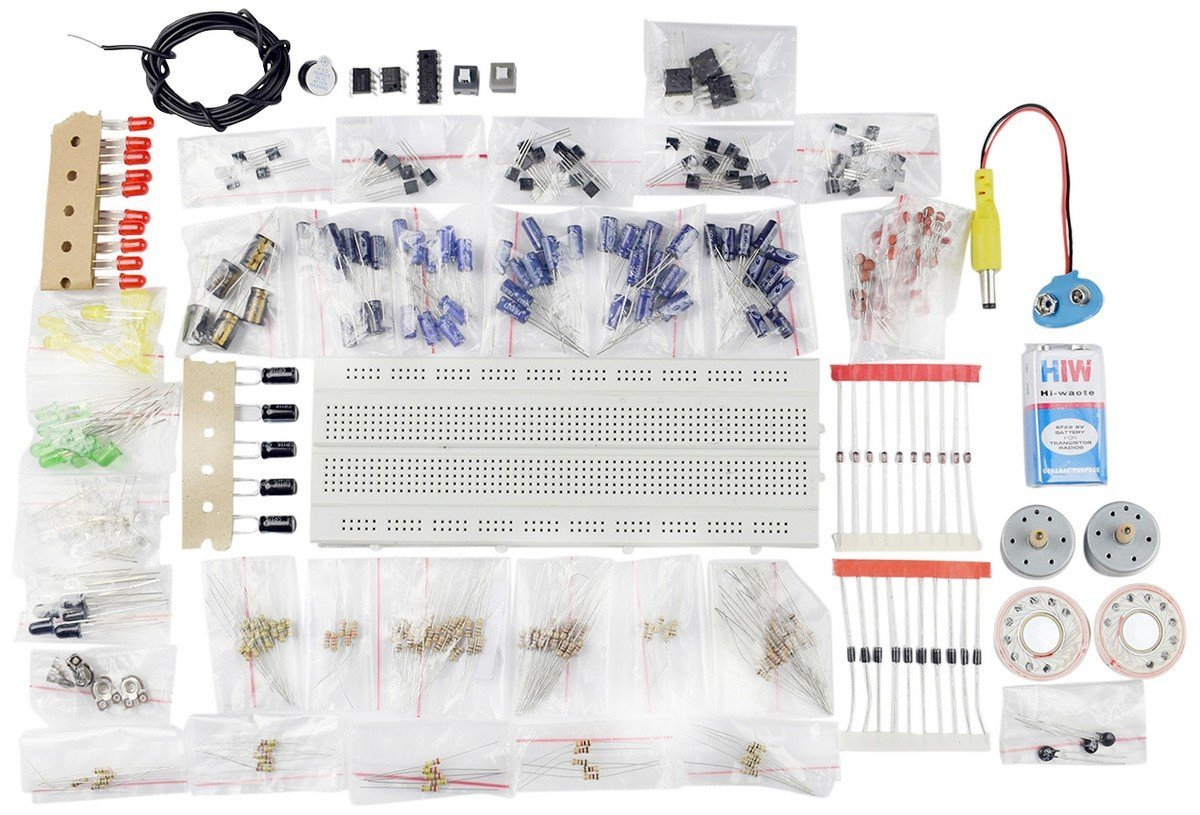Electronic Components Project Kit